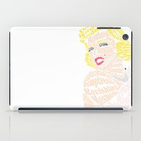 bible verse iPad Cases featuring Marilyn Verse by Kaitlyn Brown