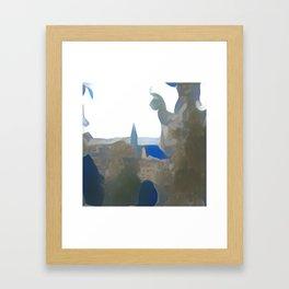 Blue Mainz Cathedral Framed Art Print