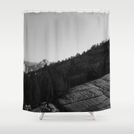 Olmsted Point, Yosemite National Park II Shower Curtain
