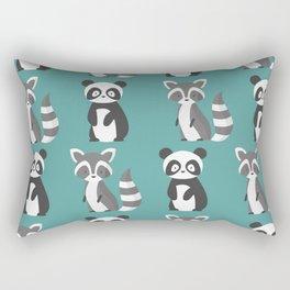 panda and guaxiim Rectangular Pillow
