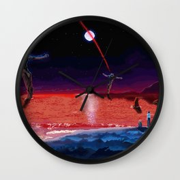 End of Pixelgelion Wall Clock