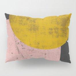 Gold moon Pillow Sham
