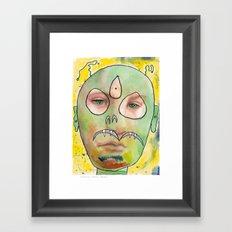 I feel jealous Framed Art Print