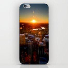 Sunset City iPhone Skin