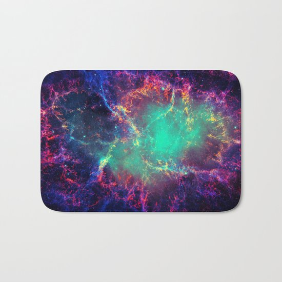 Cave Nebula Bath Mat