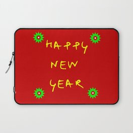 happy new year 12 Laptop Sleeve