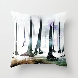 King of the Trees Throw Pillow