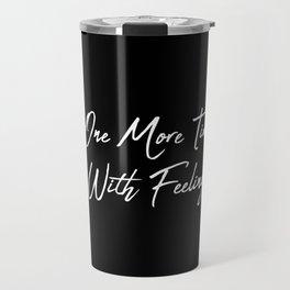 One More Time Travel Mug