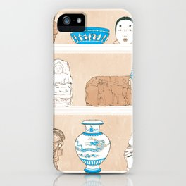 Archaeologist's Shelf iPhone Case