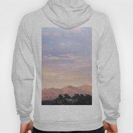 Sunset over Saddleback Mountain Hoody