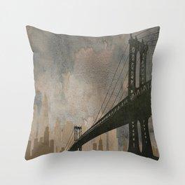 Bridging Gaps Throw Pillow