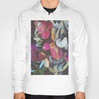 hydrangea Hoodies featuring Fall Hydrangea by DuckyB