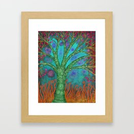 Mystic Tree Framed Art Print