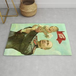 Baby Trump And Vladimir Putin Meme Rug