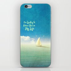 Lucky - for iphone iPhone & iPod Skin