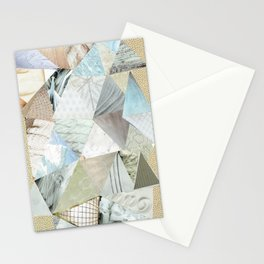 Collage - Like White on Rice Stationery Cards