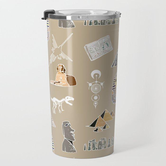 Archeo pattern Travel Mug