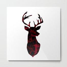 Deer head. Metal Print