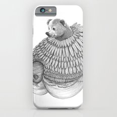 The Bear and the Bees- Feathered iPhone 6s Slim Case