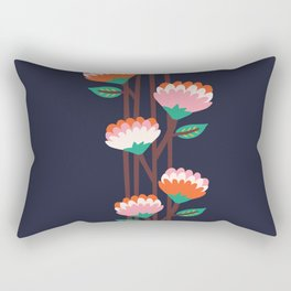 Benoít Flowers Rectangular Pillow
