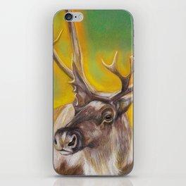 Glowing Caribou iPhone Skin