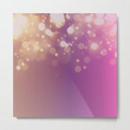 Purple glam Metal Print