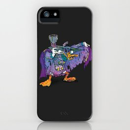 The terror in the night iPhone Case