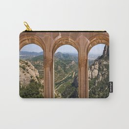 Vintage windows to the mountains. Carry-All Pouch