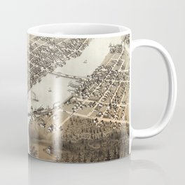 Green Bay - Wisconsin - 1867 Coffee Mug