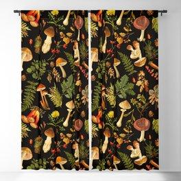 Vintage & Shabby Chic - Autumn Harvest Black Blackout Curtain
