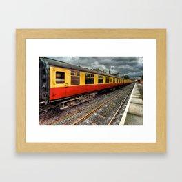 1963 British Carriage Framed Art Print
