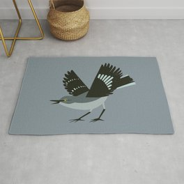 Northern Mockingbird Rug