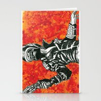 mad max Stationery Cards featuring Mad Max  by Abominable Ink by Fazooli