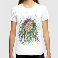 splatter T-shirts featuring BMarley Splatter by Liam Reading
