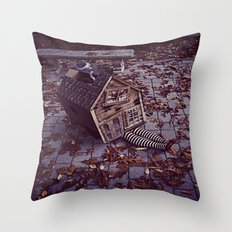 Wicked Witch of The East Throw Pillow