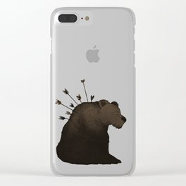 Hurt Clear iPhone Case