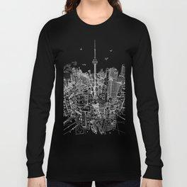 Toronto! Red (Version #2) Long Sleeve T-shirt