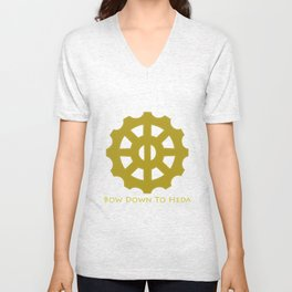 Bow Down To Heda 2 Unisex V-Neck