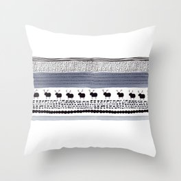 Pattern / Nr. 1 Throw Pillow