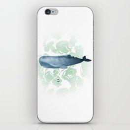 Champion breath holder of the ocean iPhone Skin