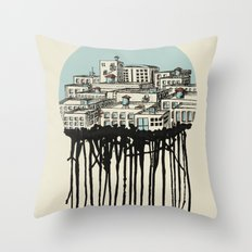 Primary City Throw Pillow