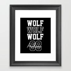 EXO  Wolf Framed Art Print