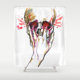 Fire Meet Gasoline Shower Curtain
