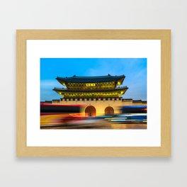 SEOUL 03 Framed Art Print