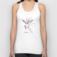 totes Tank Tops featuring Totes ma Goats by Lauryn M