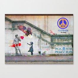 """BLAME BANKSY """"It's a Banksy"""" Canvas Print"""