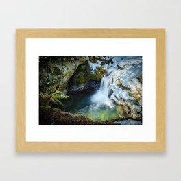 Paradise Falls 1 Framed Art Print