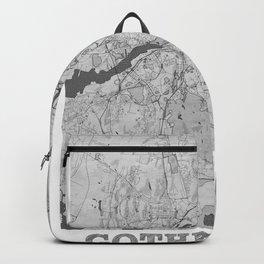 Gothenburg Pencil City Map Backpack
