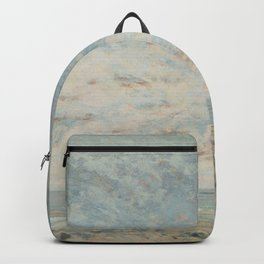"""Gustave Courbet """"Low Tide at Trouville"""" Backpack"""