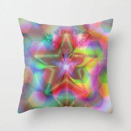 Star tree Throw Pillow